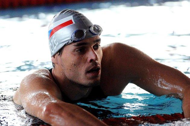 Brněnský plavec Martin Verner je jedním z lákadel na brněnskou velkou cenu.