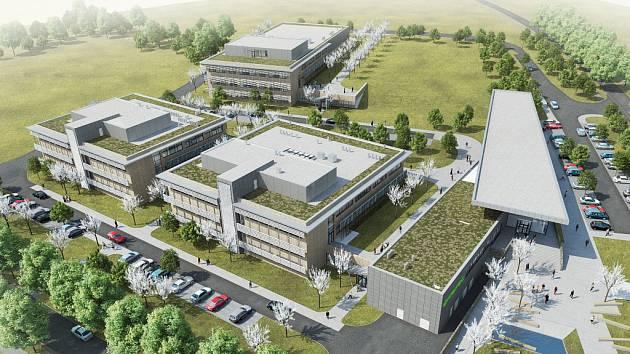 Brněnské vědecké centrum Ceitec v areálu Vysokého učení technického Pod Palackého vrchem
