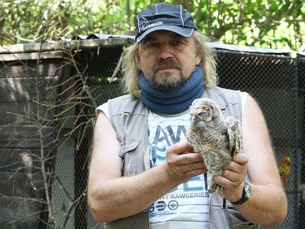 Záchranná stanice Ptačí centrum v Černovicích opatruje nejen opeřence, ale i další nalezená zvířata.