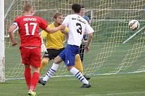 Fotbalisté Líšně sahali proti favorizovanému Vyškovu aspoň po zisku bodu, nakonec však v sedmém kole moravskoslezské ligy padli 0:1. O jedinou branku se postaral hostující kapitán Michal Jeřábek.