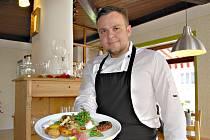 Majitel restaurace a kuchař v jedné osobě, Petr Noha