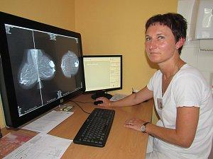 Lékařka Gabriela Šteinfeldová.