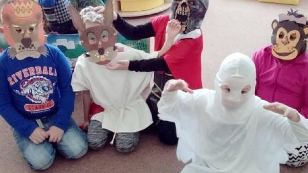 Halloween v přípravné třídě