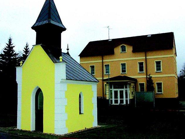 Kaple v obci Vintířov.
