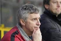Trenér HC Baník Karel Potužník.