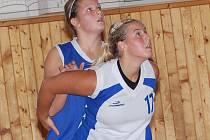 II. liga žen v basketbalu: BCM Sokolov (v bílém) - BK Lovosice