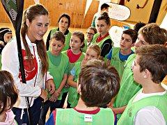 Trénink s olympionikem