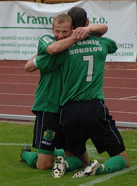 Baník Sokolov se utkal s Baníkem Most