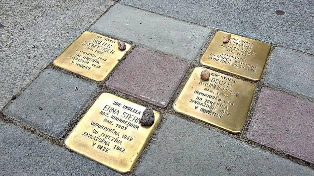 Kameny zmizelých v Chodově.