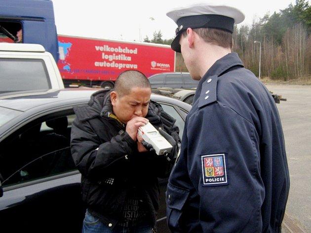 Policejní kontrola.