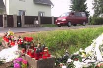 ŠIROKÁ SILNICE svádí řidiče k příliš rychlé jízdě. Smrtelná nehoda se tu stala naposledy minulý týden.