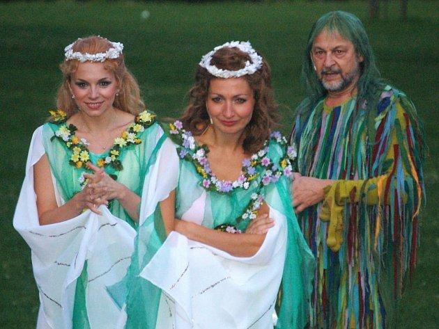 Opera Rusalka v přírodním amfiteátru v Lokti.