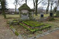 Hrobka rodiny Ritter je významná i svým provedením a velikostí, kterými se vymyká chodovským poměrům.