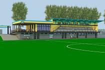 Fotbalový klub má i studii revitalizace celého areálu fotbalového hřiště