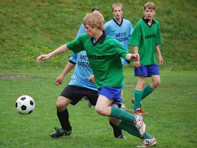 Fotbalový turnaj dorostenců na Březové vyhrála domácí Olympie.