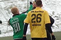 Přípravný fotbal: FK Baník Sokolov - VfB Auerbach