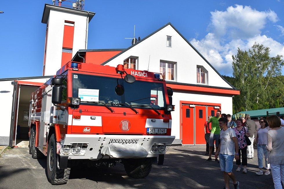 Hasiči z Březové jsou nedílnou součástí města.