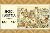 Stolní kalendář s kresbami Zdeňka Machytky.