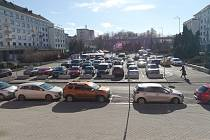 Sokolovské náměstí Budovatelů
