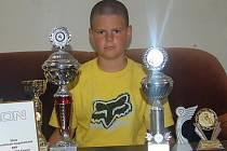 Jaroslav Paulus s vítěznými trofejemi