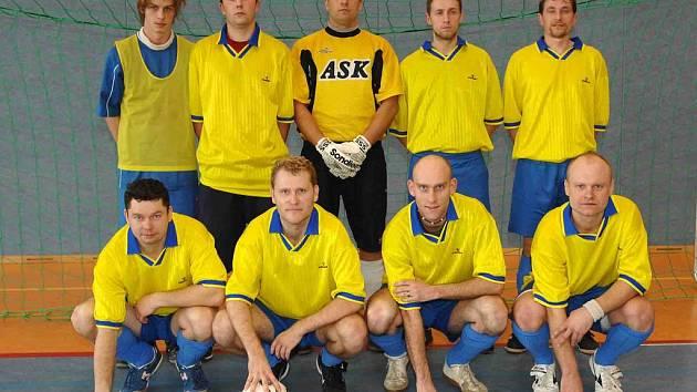 Futsalové družstvo SKP Detektiv na turnaji v Německu.