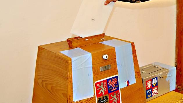 Volební urna v horské Přebuzi pochází z první republiky.
