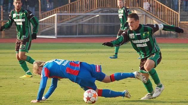 Utkání 3. kola Ondrášovka cupu FK Baník Sokolov – FC Viktoria Plzeň