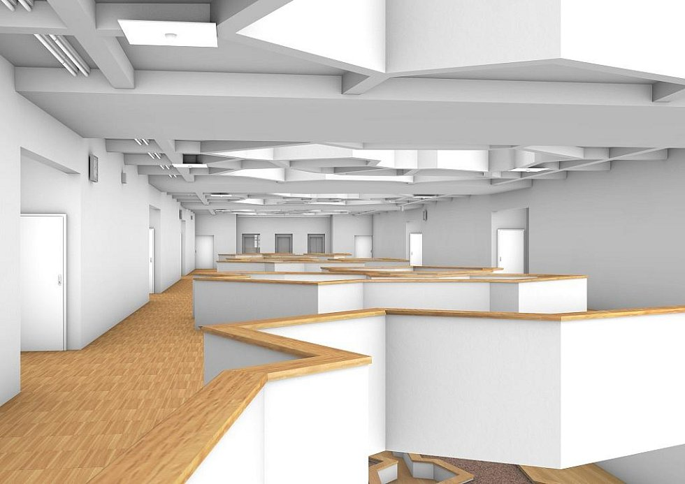 Takto bude vypadat nový pavilon školy.