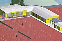 Podoba nového tenisového areálu