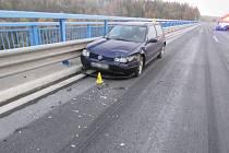 Nehoda na dálnici D6