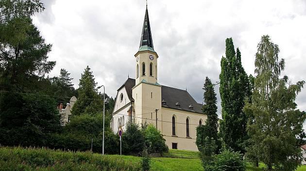 Kostel Nejsvětějšího srdce Páně je filiální římskokatolický kostel ve Stříbrné.