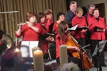 Cantilo v.i.p. na adventním koncertě nevidomých.