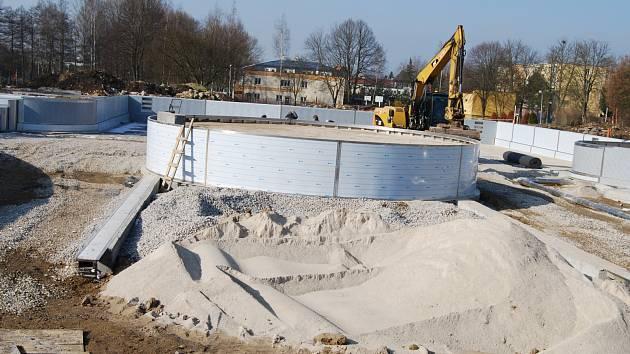 Rekonstrukce sokolovského koupaliště