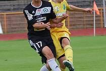Česká liga dorostu U19: FK Baník Sokolov - 1. FK Příbram (v černém)