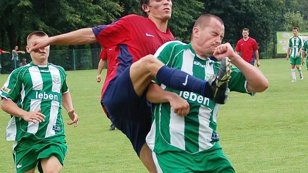 Finále Citické stávky: Sokol Citice - Horní Slavkov (v červených dresech) 1:2