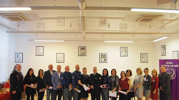 Generální ředitel Vězeňské služby ČR ocenil zaměstnance.