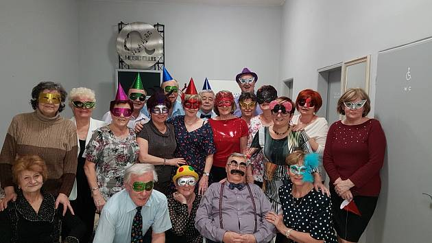 Taneční masopustní zábava Slaměnky.