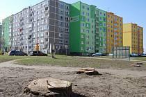 Sokolovské sídliště Vítězná