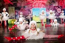HEJ HA HUSY! Odbornou porotu na vystoupení nejmladších tanečnic z Miráklu zaujaly i vyladěné kostýmy.