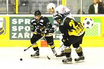 Přípravný hokej:Baník Sokolov - Klatovy