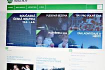 Webové stránky Sokolova