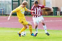 Josef Dvorník v utkání s Viktorií Žižkov