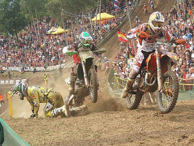 Motokrosové mistrovství světa se jelo v Lokti již popatnácté