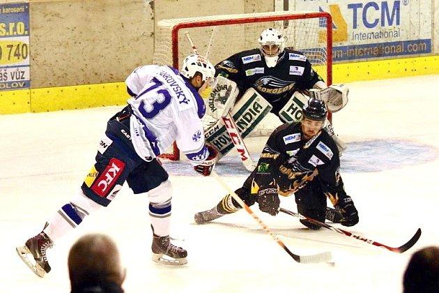II. hokejová liga: Sokolov vs. Kolín