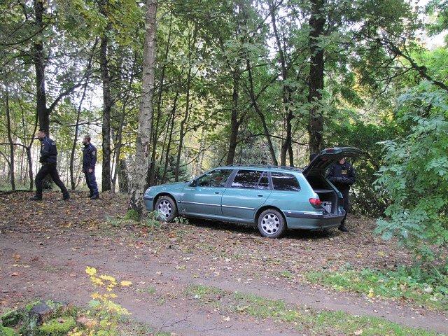 Cvičné policejní akce na Kraslicku.