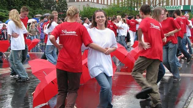 Taneční akce v Sokolově.