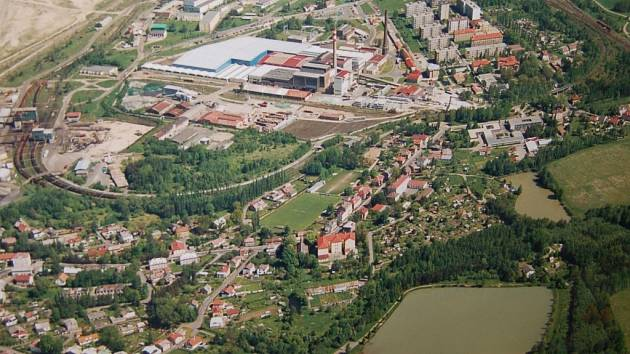 Město Nové Sedlo.