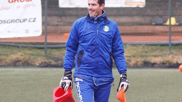 Milan Zahálka - nový trenér brankářů FK Baník Sokolov