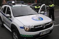 Služební Dacia sokolovských strážníků