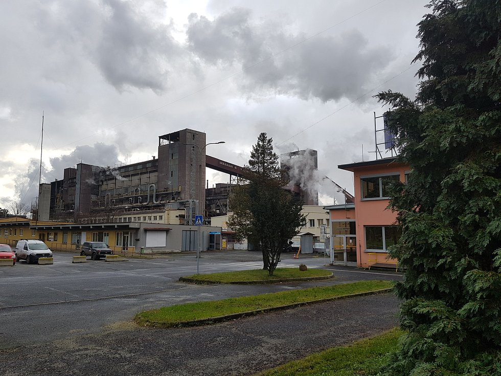 Provoz ve Vřesové.